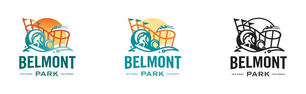 Belmont Park Logo Variations