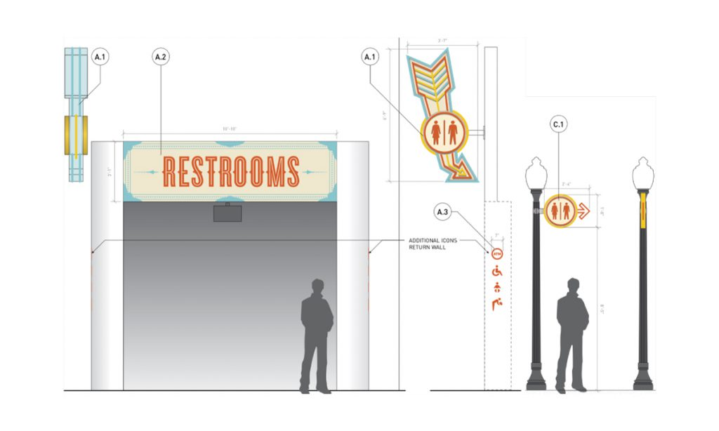 Belmont Park Restroom Elevation