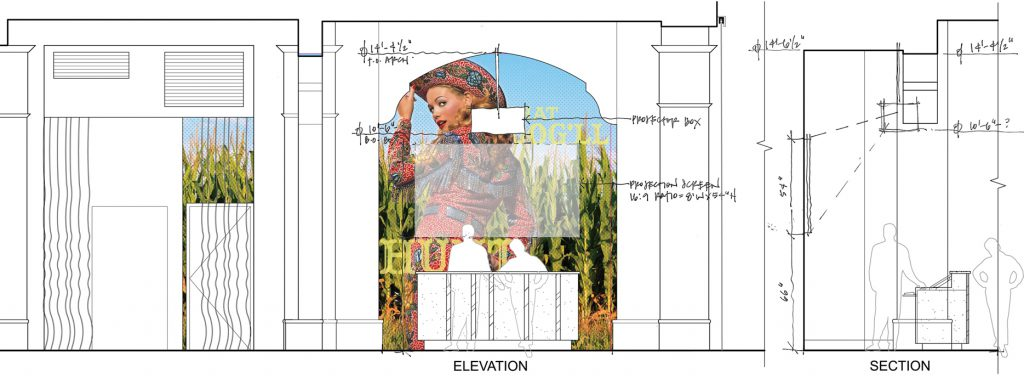 Interior Feature Treatment Elevation