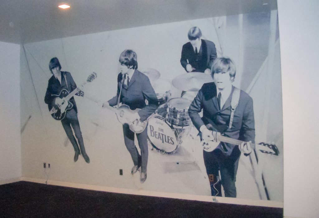 The Beatles Feature Wall