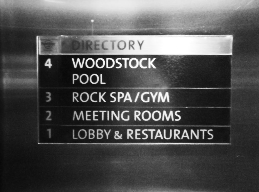 Interior Elevator Wayfinding