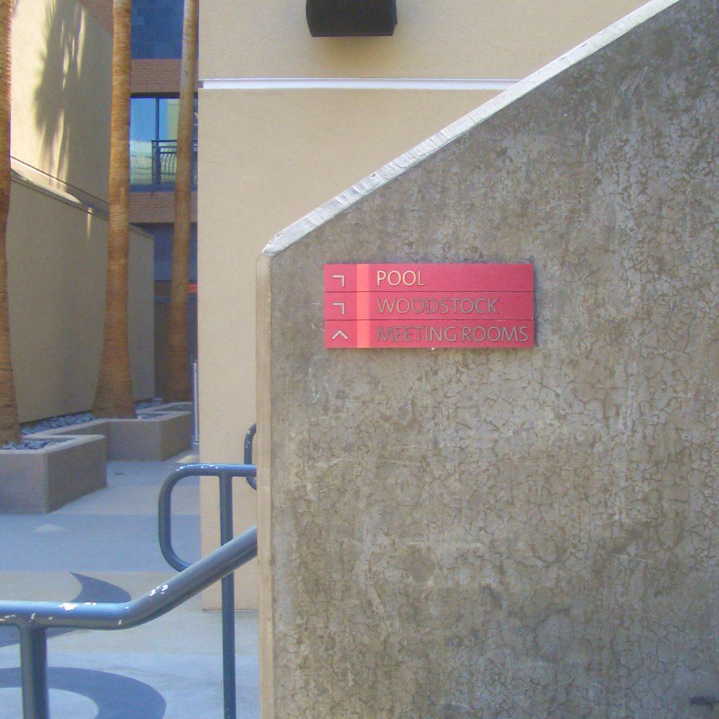 Exterior Wayfinding