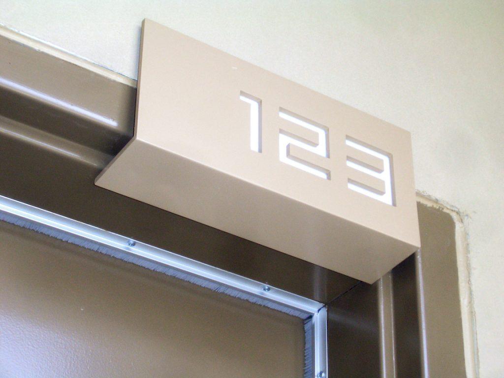 Juhl Interior Signage
