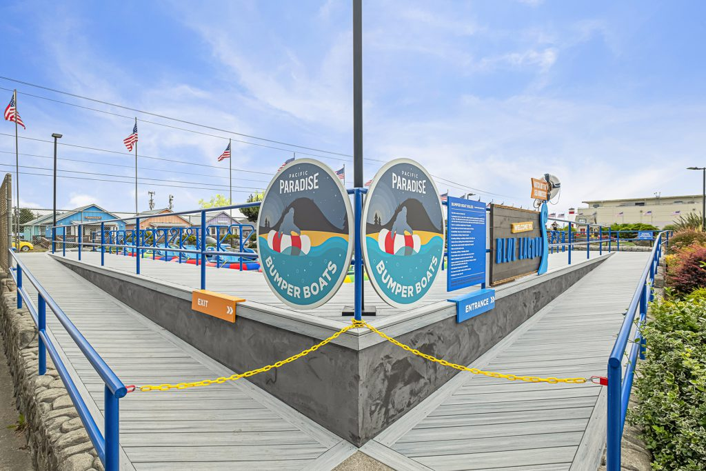 Bumper Boats Signage and Wayfinding
