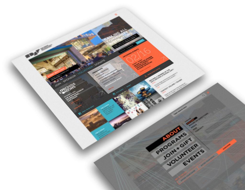 SDAF Responsive Website