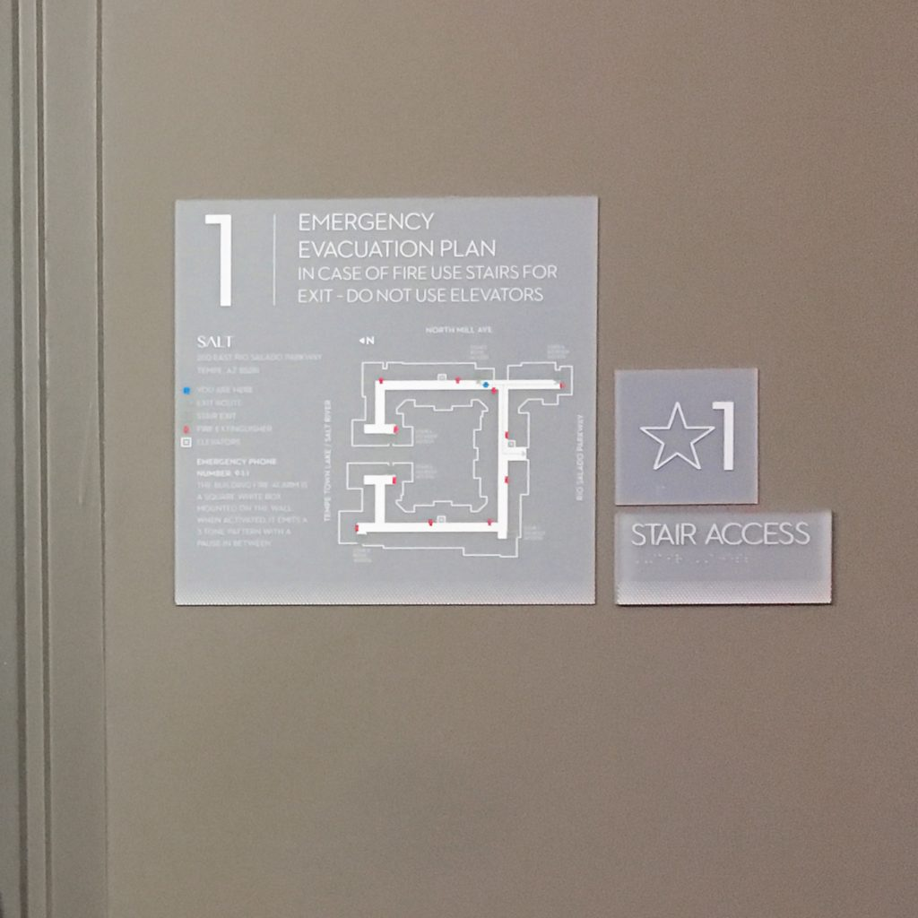 SALT Interior Signage