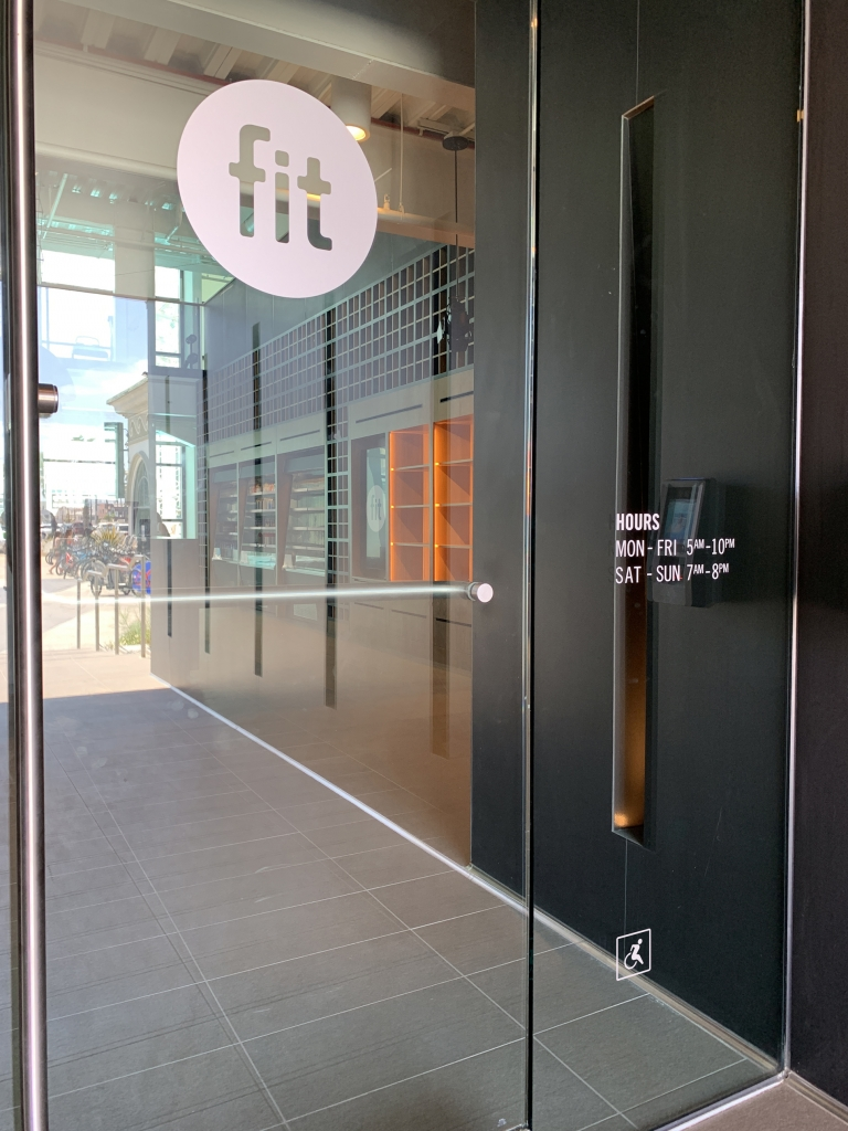 Fit Entry Door Graphics