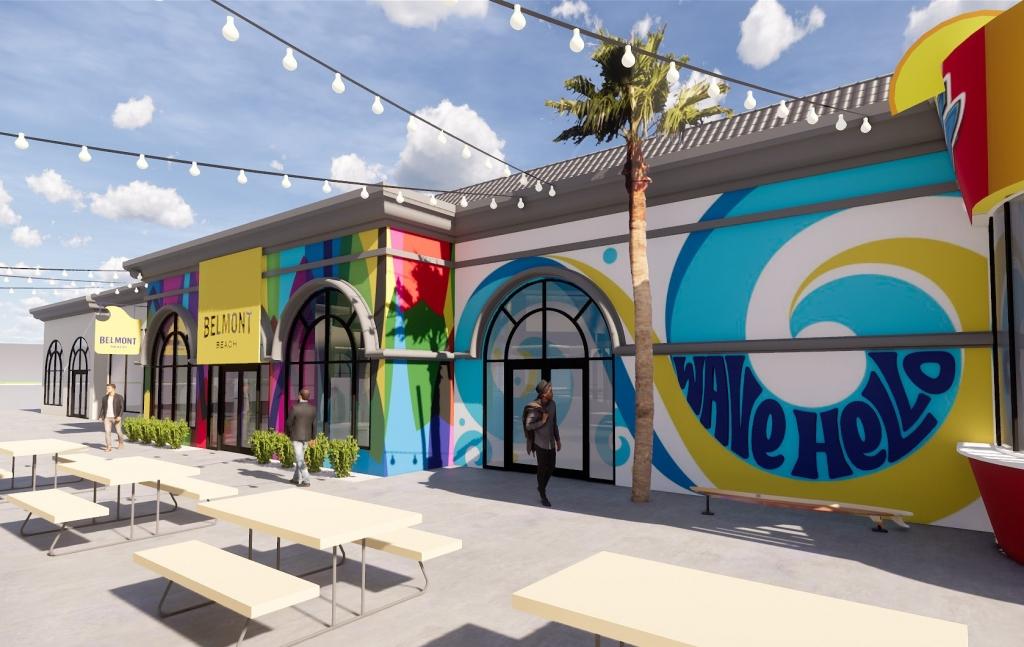 Belmont Beach Storefront Concept