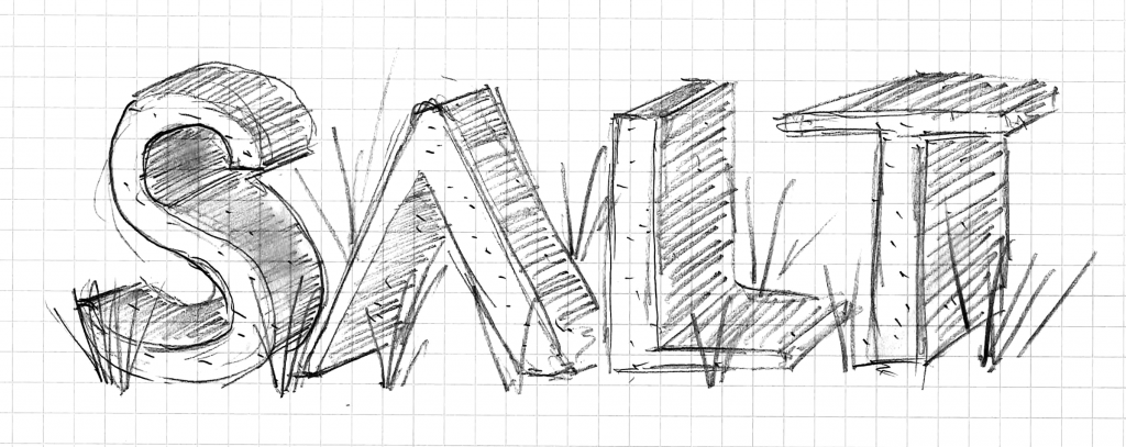 SALT Monument Sign Sketch