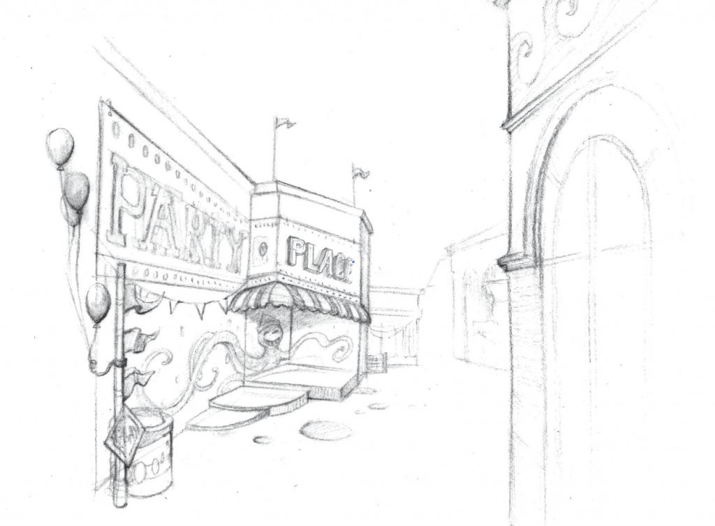Belmont Concept Sketch