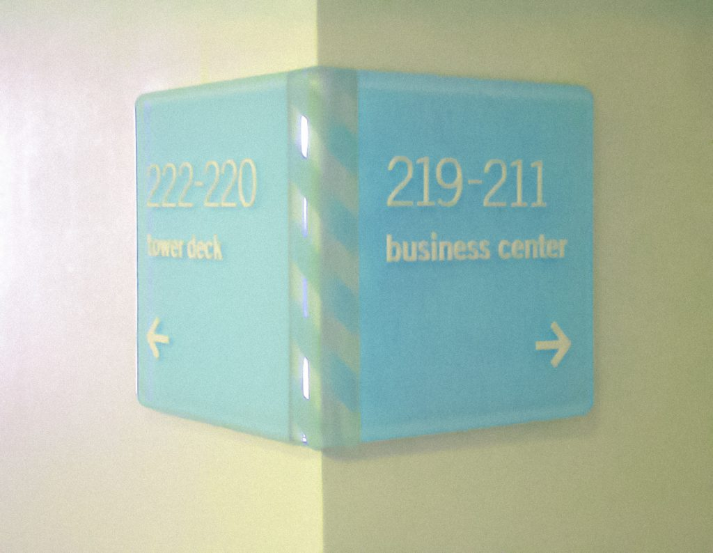 TOWER23 Wayfinding Signage
