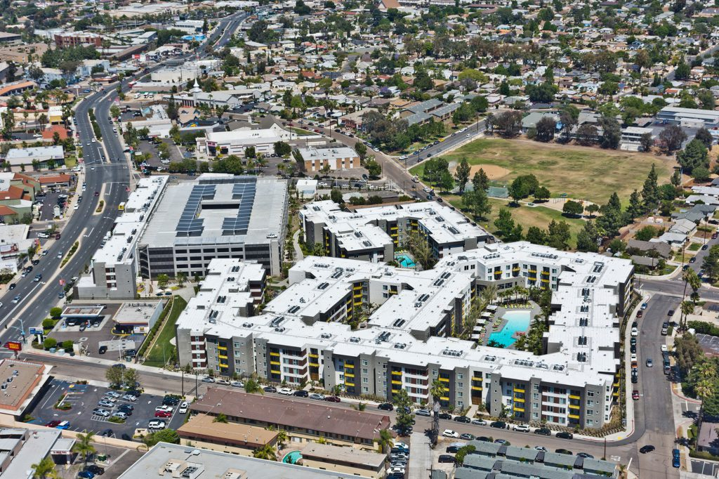 BLVD63 Aerial View